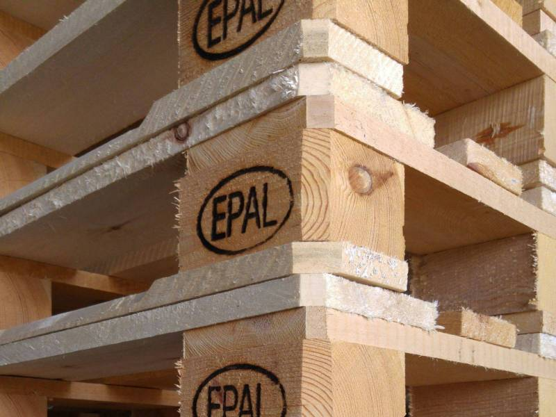 EURO EPAL paletės